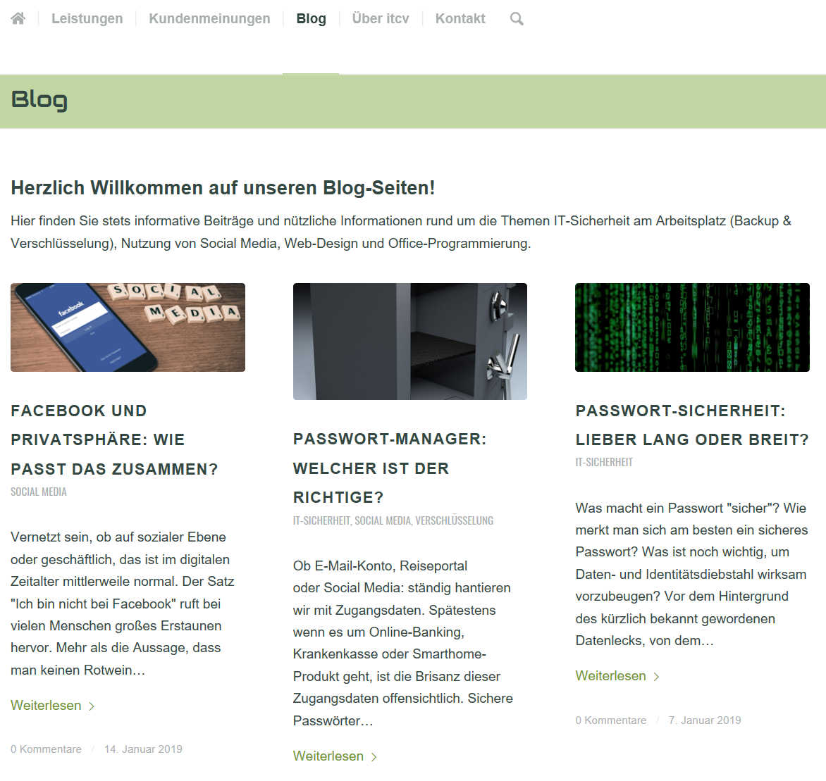 Umfassende und informative Beiträge rund um die Themen IT-Sicherheit, Backup ,Verschlüsselung, Web-Design und Office-Programmierung