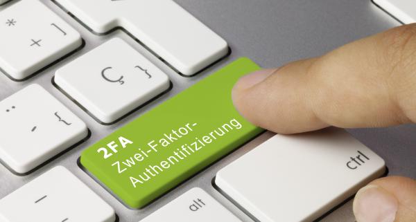Zwei-Faktor-Authentifizierung (2FA