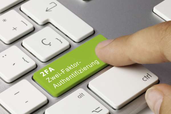 Zwei-Faktor-Authentifizierung (2FA)