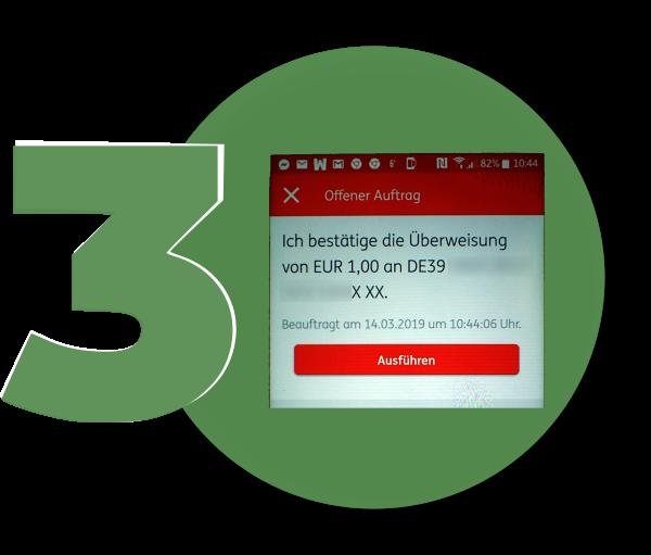 ING Online-Banking - Bestätigung
