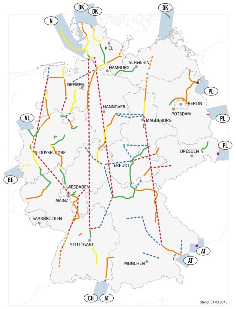 Ausbauvorhaben Stromnetz