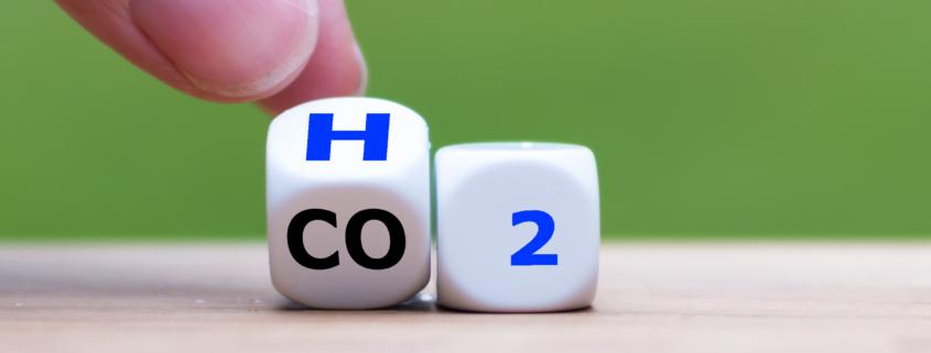 Wasserstoff statt CO2