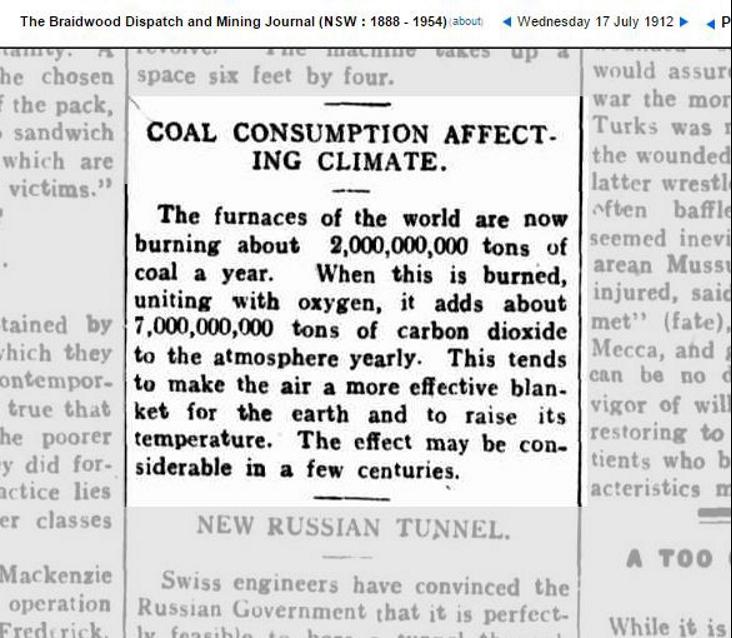 Klimakrise: Coal consumption affecting climate